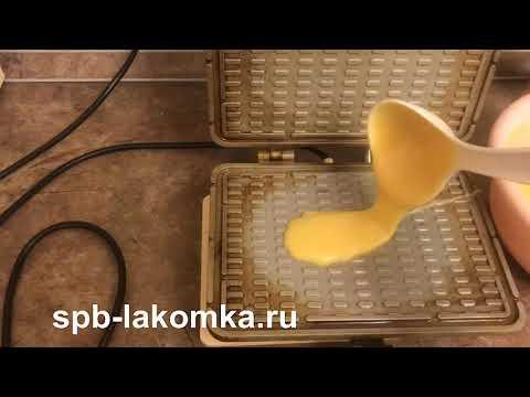 Вафельница для тонких вафель Лакомка в деле:)