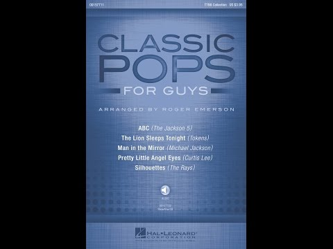 Classic Pops for Guys, 4. Pretty Little Angel Eyes - Arranged by Roger Emerson