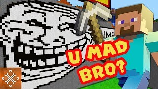 10 BEST Ways To Troll The Trolls Of Minecraft