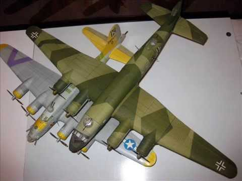 Focke Wulf FW200 paper model. 1:48 scale. Second edition.