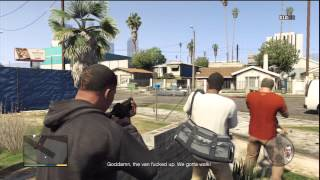 Grand Theft Auto 5 Part 19 - Grove Street (No Commentary)