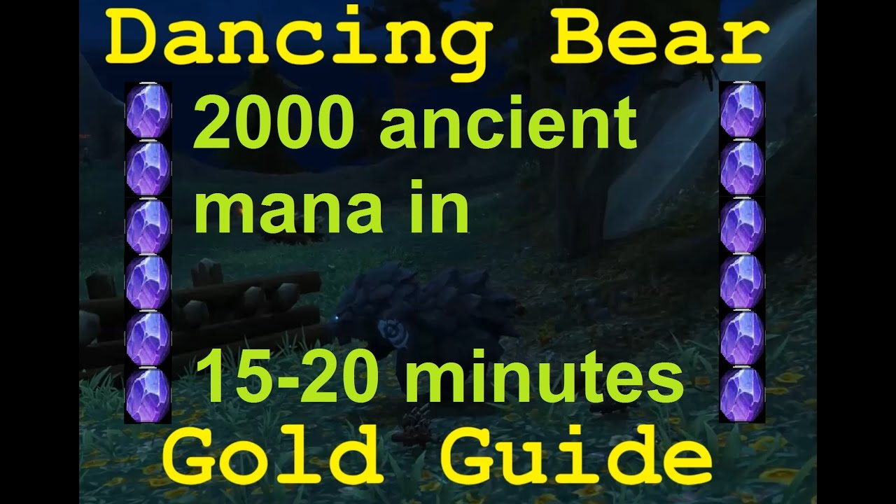Ancient Mana Best Spot To Farm 2000 In 15 20 Minutes Wow Legion Youtube