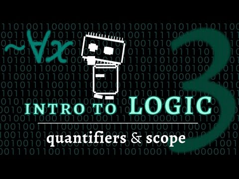 Logic & Language - quantifiers & bound variables (Logic 3 of 5)