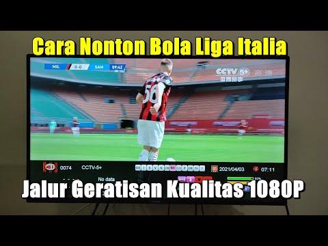Cara Nonton Siaran Bola Liga Italia di Parabola Satelit Chinasat 6a