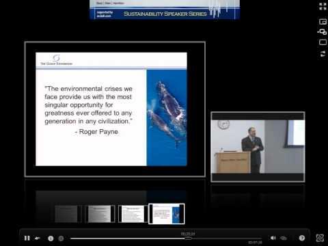 Mark J. Spalding, The Ocean Foundation - Booz-Allen-Hamilton Sustainability Speaker Series Event