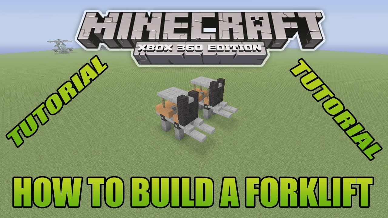 minecraft how to build a lift
