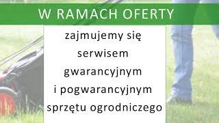 wypożyczalnia sprzętu ogrodniczego kosiarki Jarosławiec FHU Fabryka Równego Trawnika