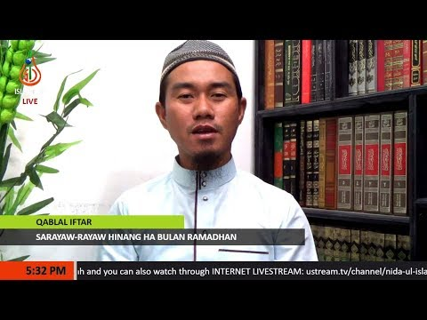 Sarayaw-rayaw Hinang ha Bulan Ramadhan - Sheikh Sansibar Jamahali (Tausug)