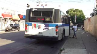 MTA Bus: 1997 OBI Orion V Q111 Bus #171 at Foch Blvd-Guy R Brewer Blvd