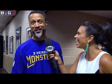 Mahmoud Abdul-Rauf - Interview Before The Final Game / BIG 3 Week 10 / BIG 3 Basketball