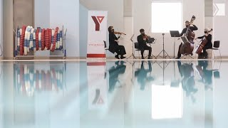 A TSO quartet performs Sonata No. 2 in A Major at the YMCA of Greater Toronto