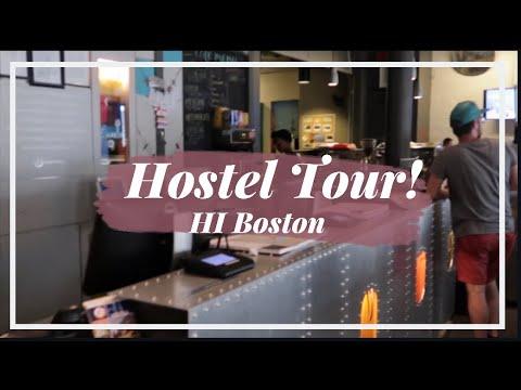 STAYING AT THE HI BOSTON!
