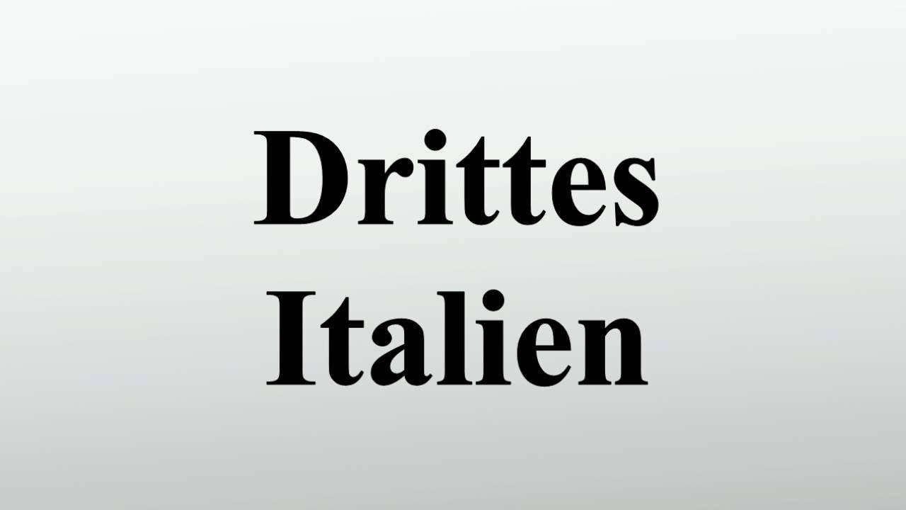 Drittes Italien