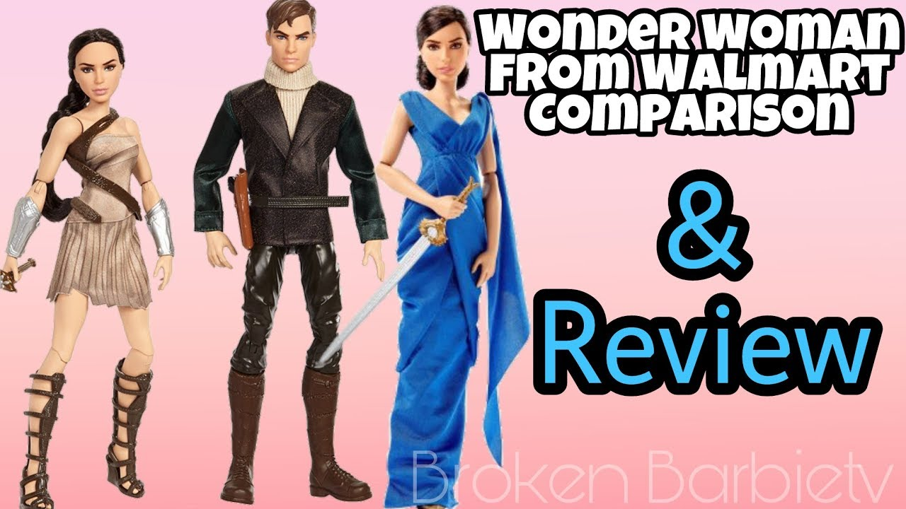 By Ken Levine Wonder Woman My Review: Wonder Woman And Steve Trevor Dolls 2-pack & Diana Prince