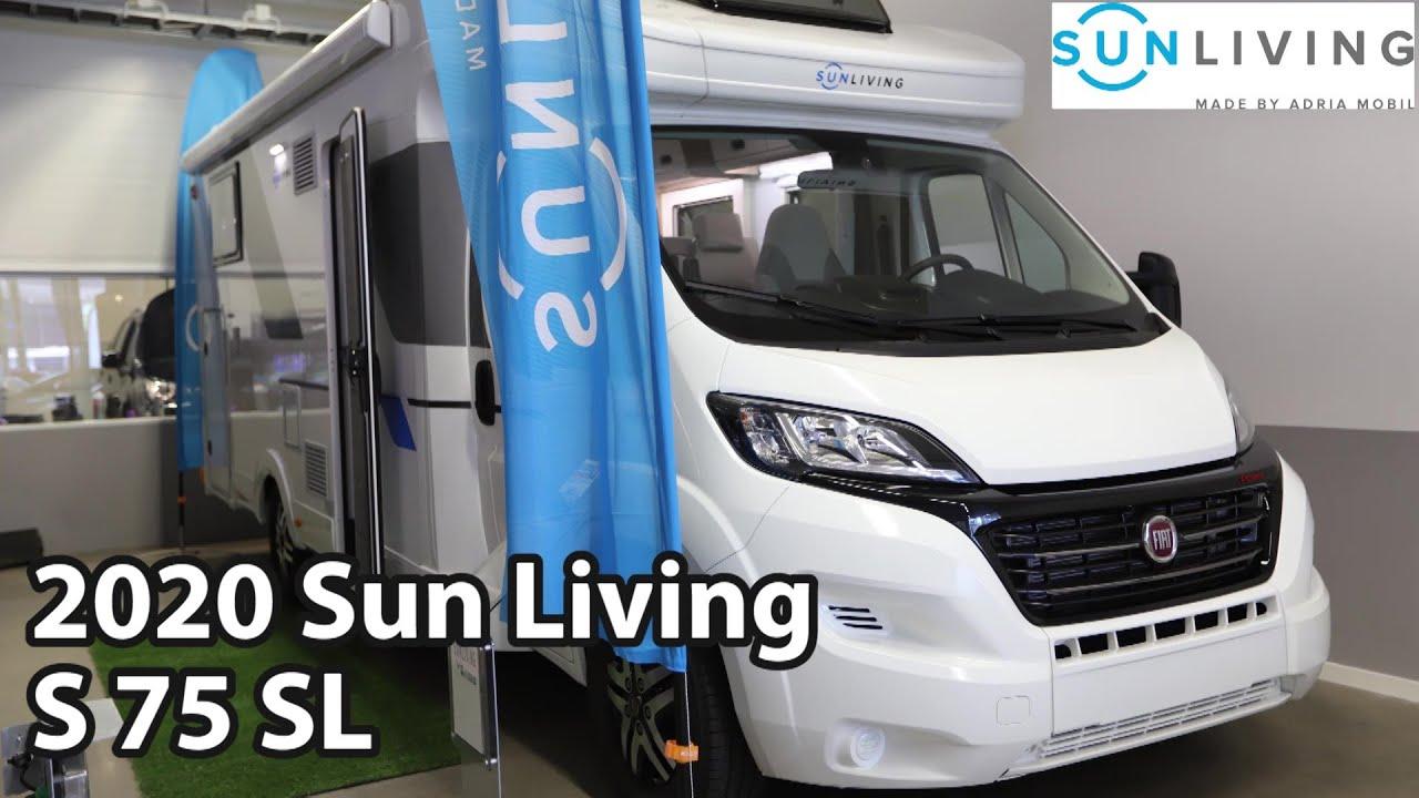 Sun Living S 75 SL 2020 Motorhome 7,42 m