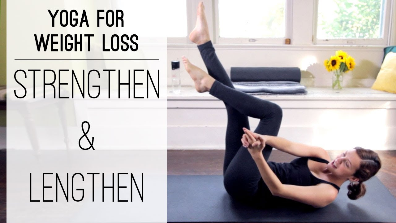 Yoga For Weight Loss Strengthen And Lengthen Yoga With Adriene Youtube