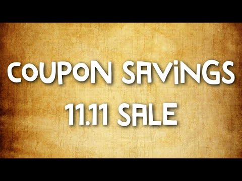 How To Use Coupons On 11.11 Aliexpress Sale!