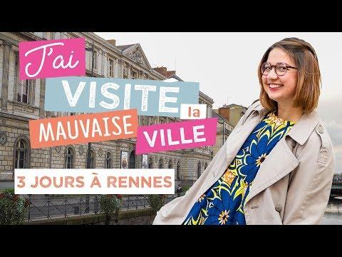 Je me suis trompée de destination du coup je visite Rennes - vlog
