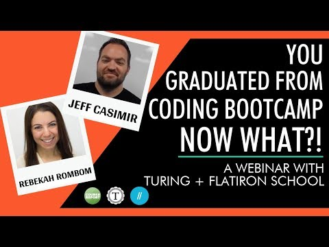 You Graduated from a Coding Bootcamp: Now What?!