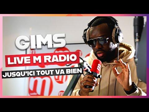 Gims chante jusqu'ici tout va bien en live sur M Radio