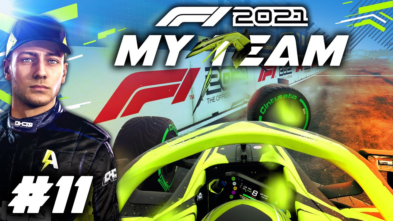 Download F1 2021 MY TEAM CAREER Part 11: MASSIVE CRASH IN THE RAIN WITH AN OLD RIVAL!