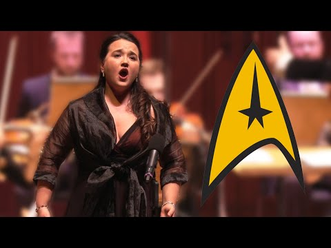 CLASSICAL SOPRANO surprises audience with STAR TREK | Conductor Rainer Hersch