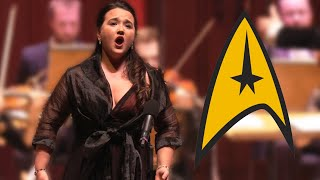 CLASSICAL SOPRANO surprises audience with STAR TREK parody | Conductor Rainer Hersch