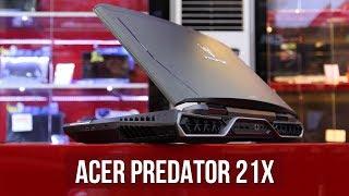 Acer Predator 21X - Laptop 250 triệu khủng nhất thế giới