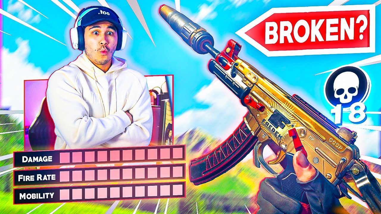 is the *NEW* OTS 9 SMG *OVERPOWERED*??? (OTS 9 BEST CLASS SETUP/LOADOUT - WARZONE SEASON 4)