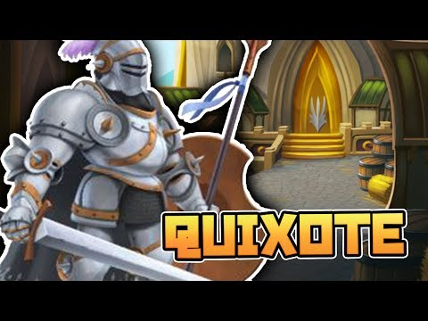 QUIXOTE - THE KNIGHTS & CASTLE MAZE - Monster Legends Analisis