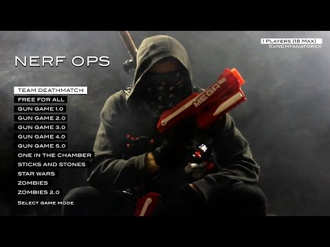 Thumbnail: NERF OPS (Entire Nerf First Person Shooter Collection in 4K!)