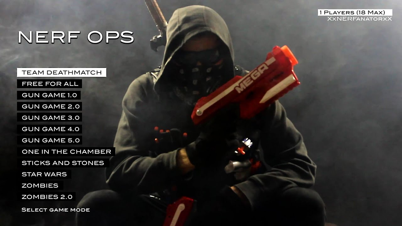 NERF OPS (Entire Nerf ...