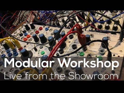 Modular Workshop - Live @ Analogue Zone Showroom E04
