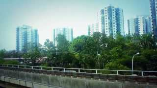 Big City Landscape in Singapore of Asia