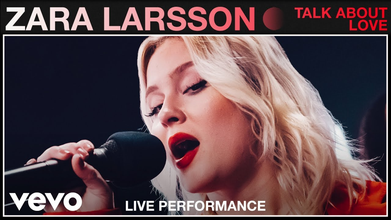Zara Larsson - Talk About Love (Live) | Vevo Studio Performance
