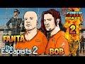 The Escapists 2 - Ep.2 S4 - Let's Play COOP avec TheFantasio974 et Bob Lennon FR HD