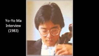 インタビュアー:黒柳徹子 ゲスト:ヨーヨー・マ 1983年放送の「徹子の...