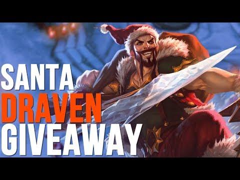 SANTA DRAVEN GIVEAWAY (League of Legends)