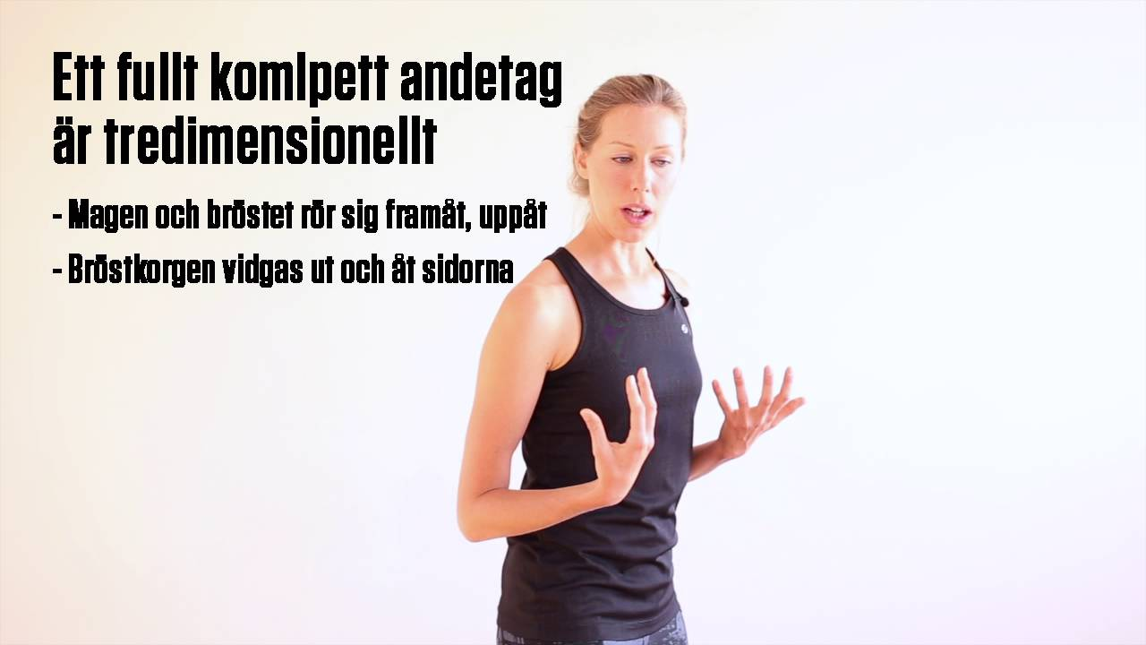 Yoga för löpare   Andingens anatomi