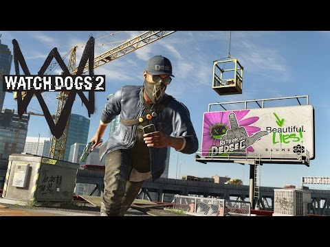 Vi hacker hele verden! - Watch_Dogs 2 - Jens Live På Twitch