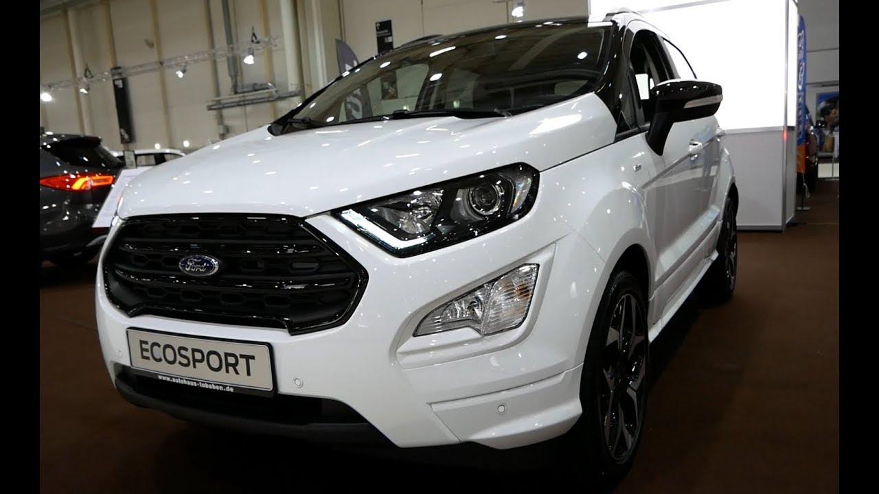 Chi tiết mẫu xe Ford EcoSport 2020 bản ST Line