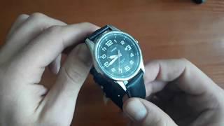Обзор и настройка. Мужские часы Casio MTP-1372L-1BVEF. Магазин Lekos