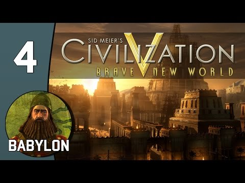 Pen Island - Let's Play Civilization V: Babylon - Part 4