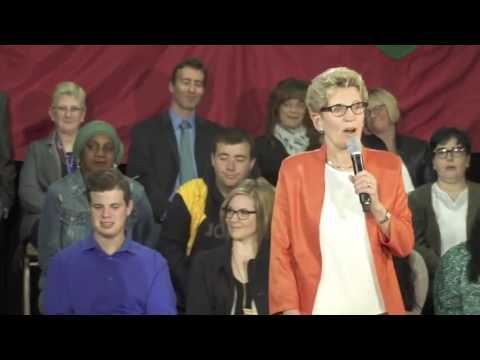 ✅ ** Kathleen Wynne Introduces Basic Income 4/24/17
