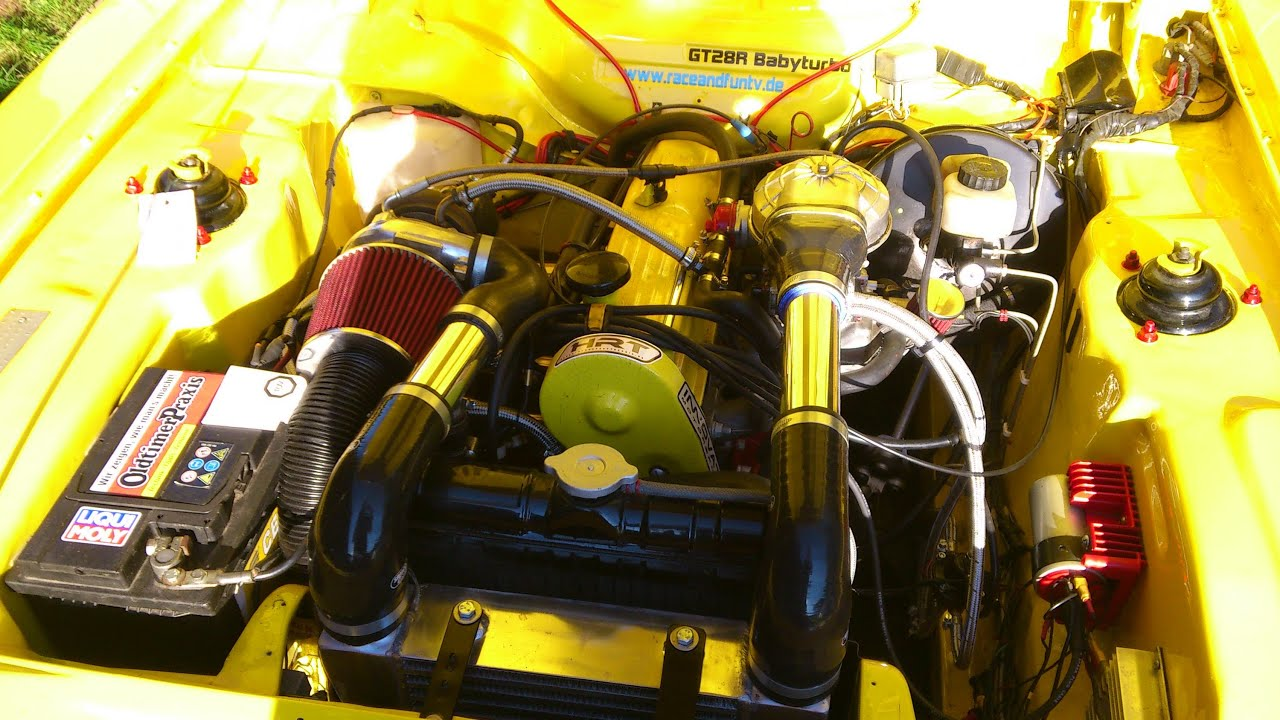 Pinto Ohc Capri Turbo Carb Youtube