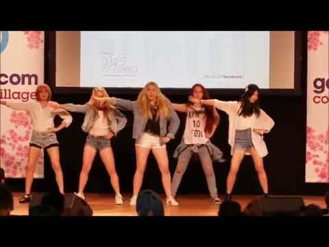4Minute-미쳐Crazy Dance Cover by Rush [Gamescom 2015]