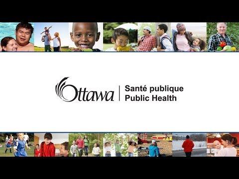 Ottawa Board of Health Meeting - Monday, October 30th, 2017