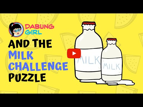 🤔 Milk Challenge | Can you measure milk? | 3 and 5 Litre Jug Puzzle | Measuring Riddle in English