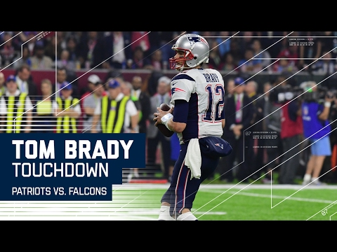 Tom Brady TD Pass & Trick Play Cuts Falcons Lead! | Patriots vs. Falcons | Super Bowl LI Highlights