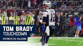 Tom Brady TD Pass & Trick Play Cuts Falcons Lead! | Patriots vs. Falcons | Super Bowl LI Highlights